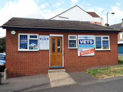 Mexborough branch of Springfield Vets