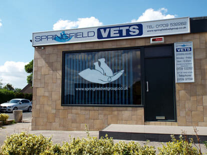 Wickersley branch of Springfield Vets
